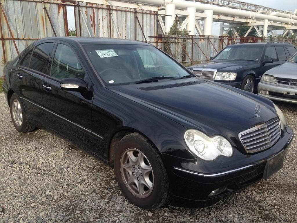 Used 2003 AT Mercedes Benz C-Class 203042