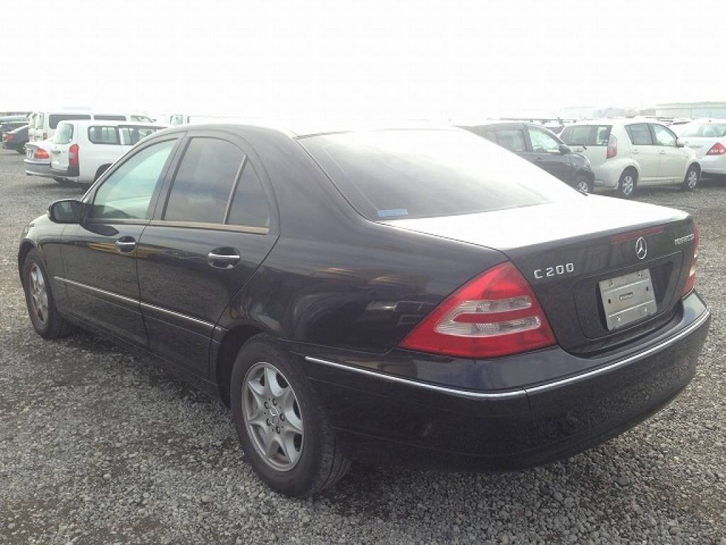 Used 2003 AT Mercedes Benz C-Class 203042 Image[2]