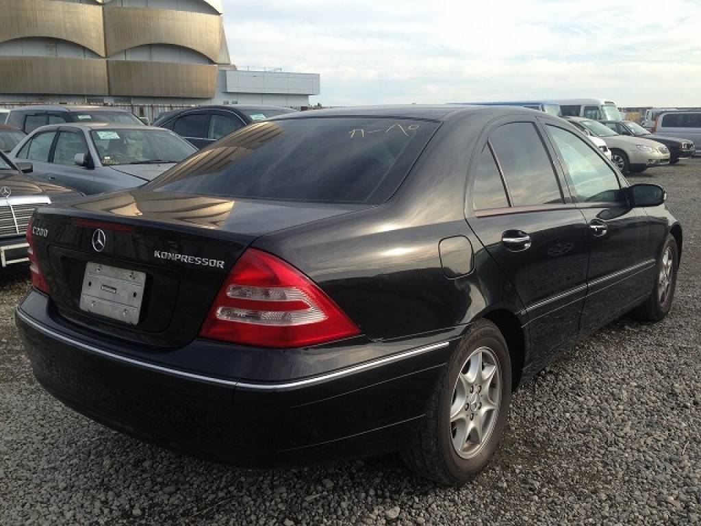 Used 2003 AT Mercedes Benz C-Class 203042 Image[3]
