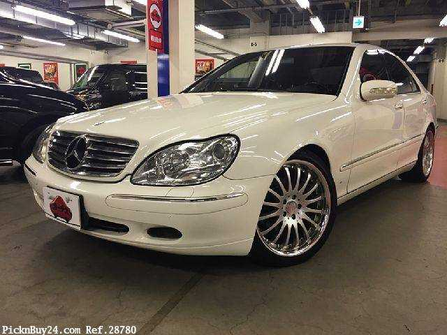 Used 2002 AT Mercedes Benz S-Class GF-220065