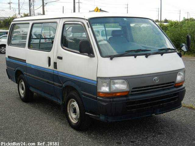Used 1995 AT Toyota Hiace Van Z-RZH102V