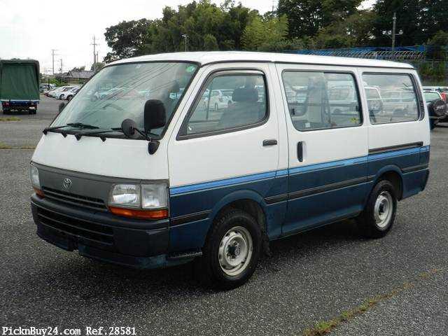 Used 1995 AT Toyota Hiace Van Z-RZH102V Image[2]