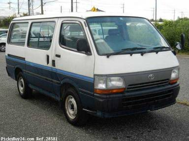 Toyota Hiace Van 1995 from Japan