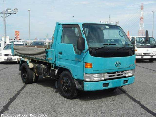 Used 1999 AT Toyota Dyna Truck KC-BU112D