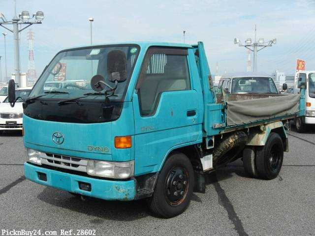 Used 1999 AT Toyota Dyna Truck KC-BU112D Image[2]
