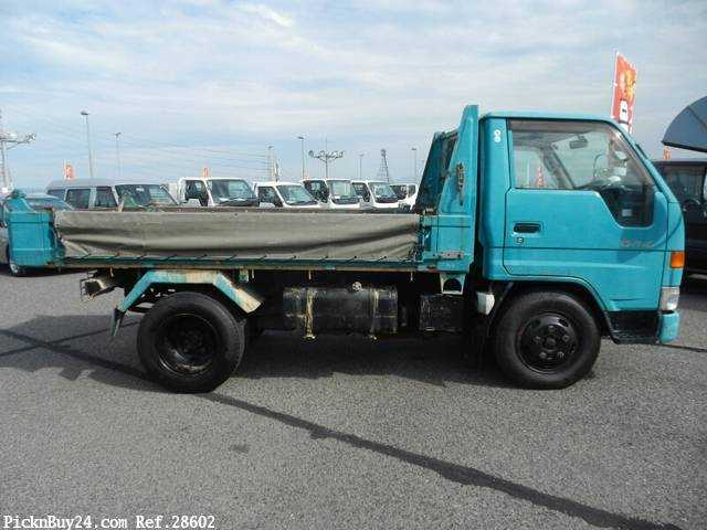 Used 1999 AT Toyota Dyna Truck KC-BU112D Image[4]