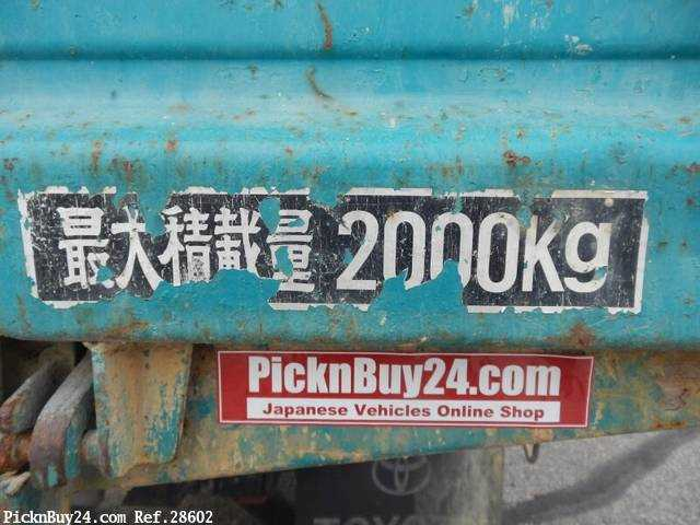 Used 1999 AT Toyota Dyna Truck KC-BU112D Image[20]