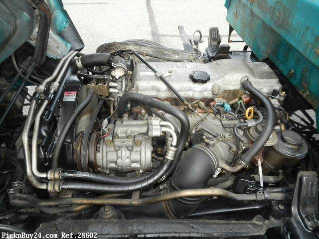 Used 1999 AT Toyota Dyna Truck KC-BU112D Image[22]