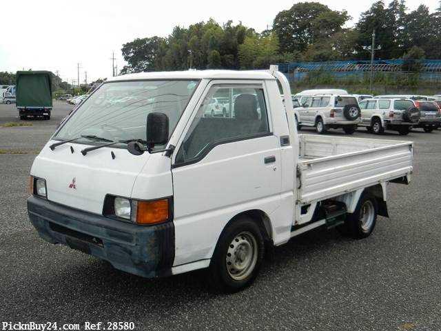 Used 1999 MT Mitsubishi Delica Truck GA-P02T Image[2]