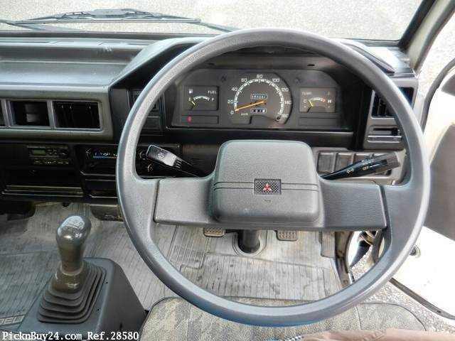 Used 1999 MT Mitsubishi Delica Truck GA-P02T Image[16]