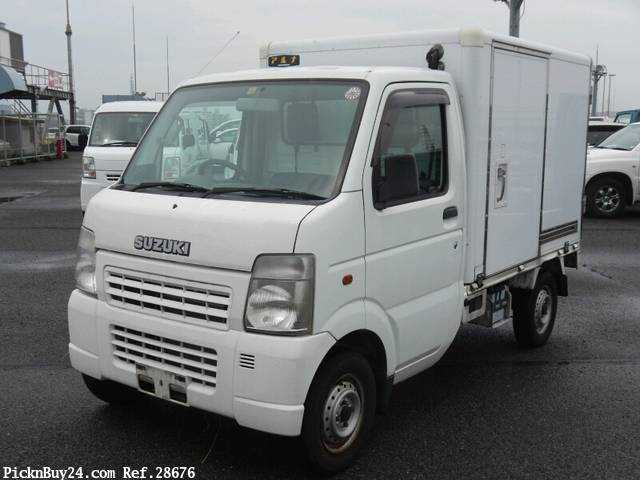 Used 2005 AT Suzuki Carry Truck LE-DA63T Image[2]