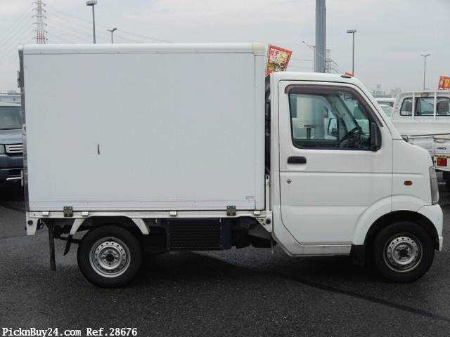 Used 2005 AT Suzuki Carry Truck LE-DA63T Image[4]