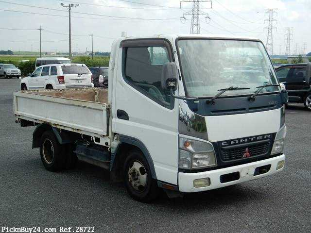 Used 2006 MT Mitsubishi Canter Guts CBF-FB700A