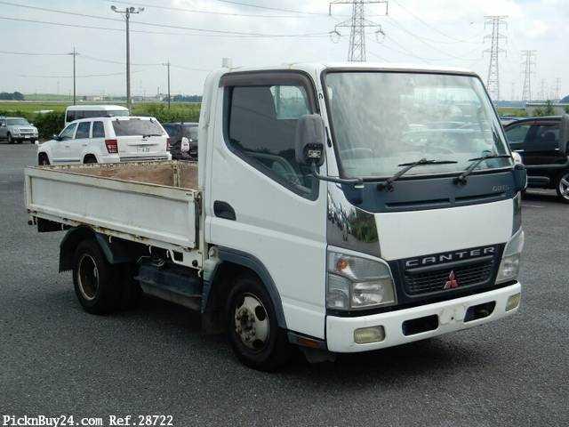 Used 2006 MT Mitsubishi Canter Guts CBF-FB700A
