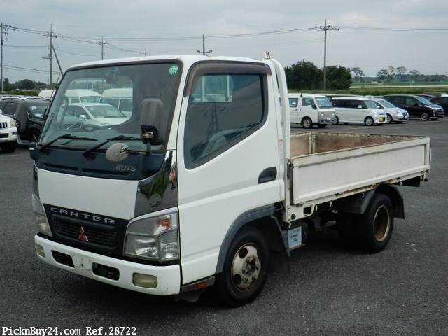 Used 2006 MT Mitsubishi Canter Guts CBF-FB700A Image[2]