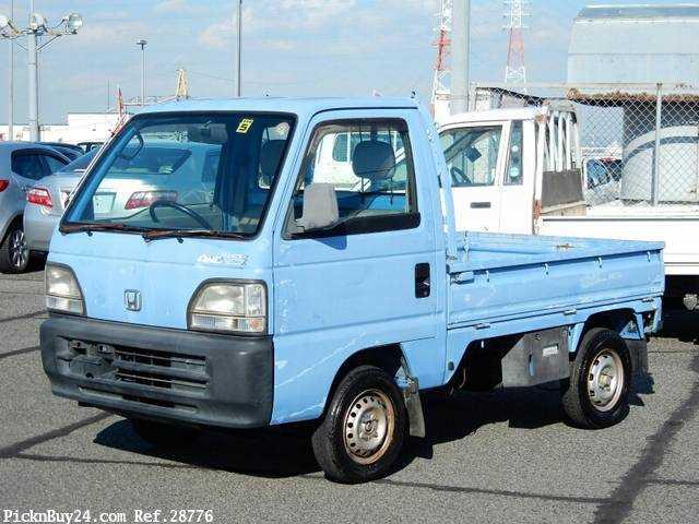 Used 1997 MT Honda Acty Truck V-HA4 Image[2]