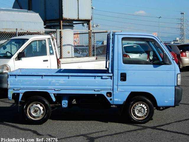 Used 1997 MT Honda Acty Truck V-HA4 Image[4]