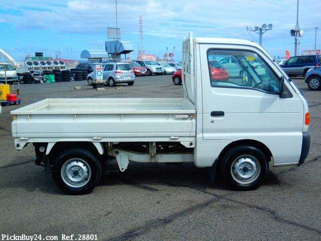 Used 1995 AT Suzuki Carry Truck V-DC51T Image[4]