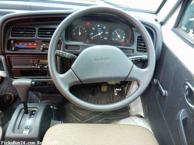 Used 1995 AT Suzuki Carry Truck V-DC51T Image[16]