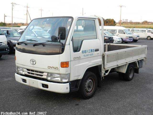 Used 1995 MT Toyota Dyna Truck GB-YY201 Image[2]