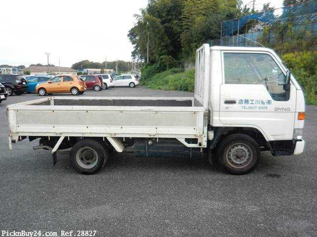 Used 1995 MT Toyota Dyna Truck GB-YY201 Image[4]