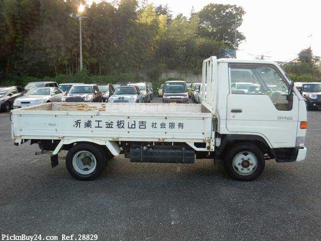 Used 1997 MT Toyota Dyna Truck GB-YY211 Image[4]