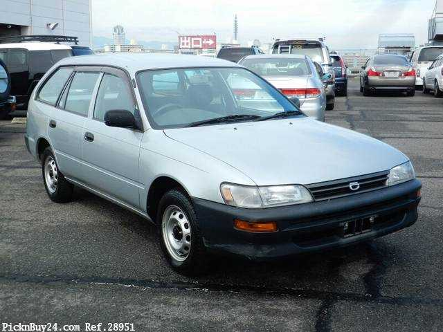 Used 2001 MT Toyota Corolla Van TB-EE102V