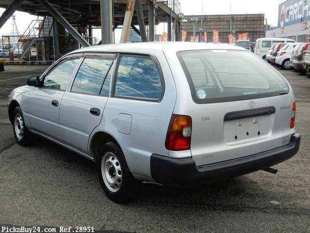 Used 2001 MT Toyota Corolla Van TB-EE102V Image[1]
