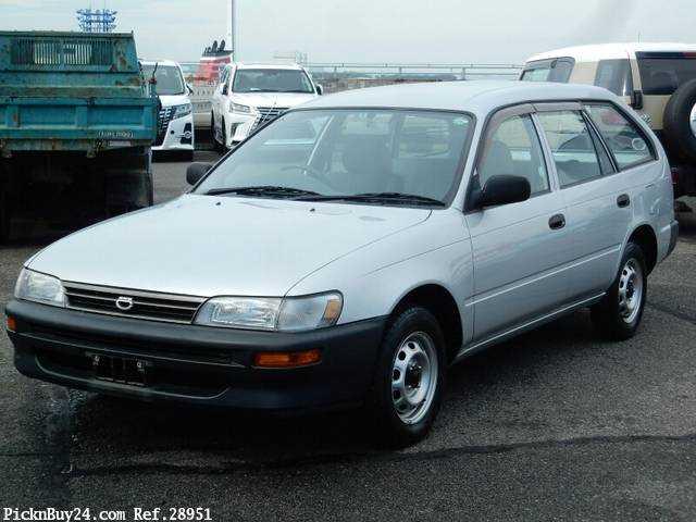 Used 2001 MT Toyota Corolla Van TB-EE102V Image[2]