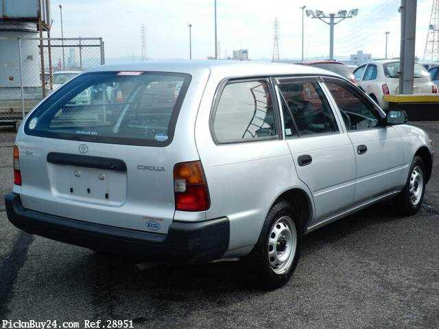 Used 2001 MT Toyota Corolla Van TB-EE102V Image[3]