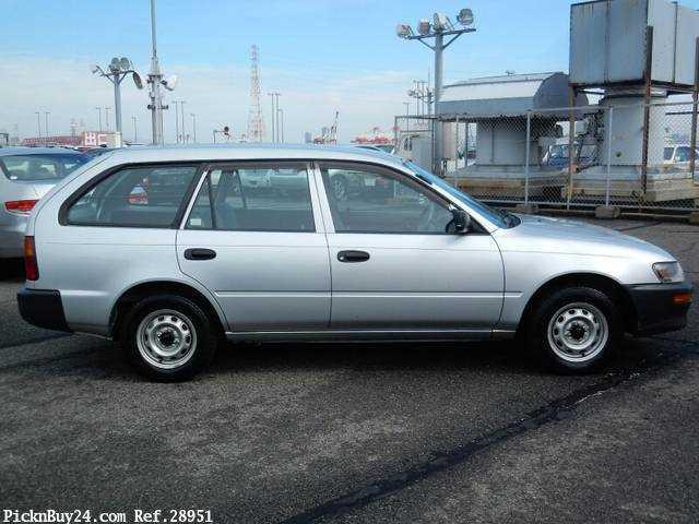 Used 2001 MT Toyota Corolla Van TB-EE102V Image[4]