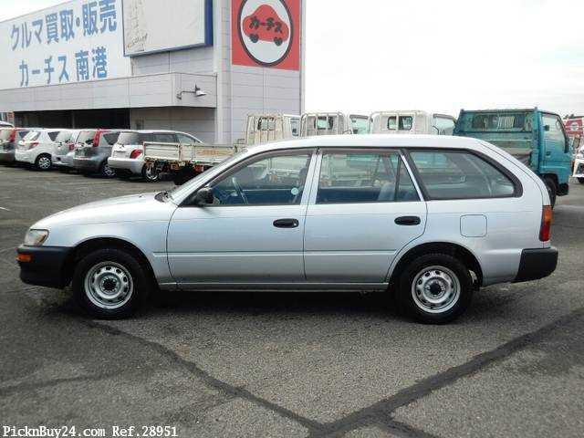 Used 2001 MT Toyota Corolla Van TB-EE102V Image[5]