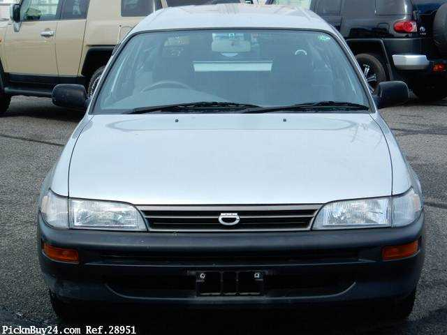 Used 2001 MT Toyota Corolla Van TB-EE102V Image[6]