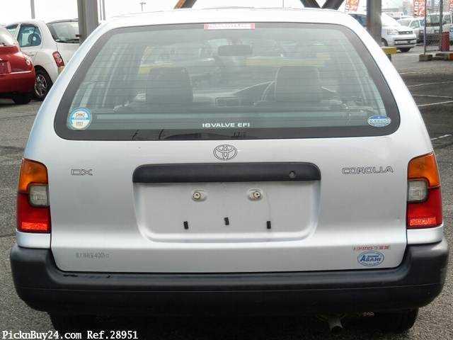 Used 2001 MT Toyota Corolla Van TB-EE102V Image[7]