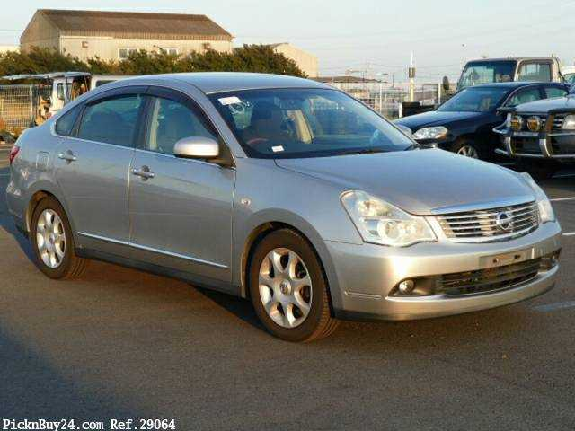 2008 AT Nissan Bluebird Sylphy DBA-KG11 for sale | Carpaydiem
