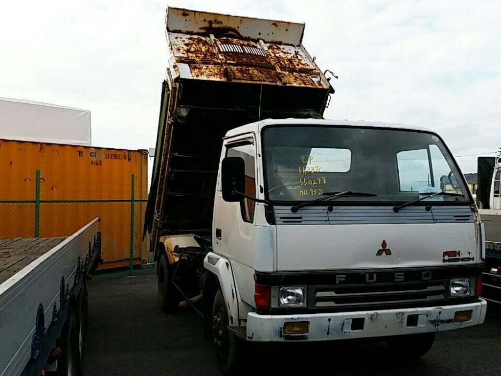Used 1993 MT Mitsubishi Fuso Fighter FK337CD Image[2]