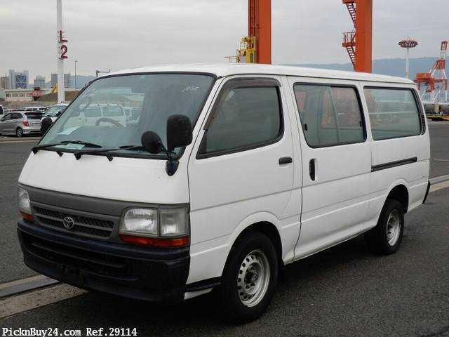 Used 1999 AT Toyota Hiace Van KG-LH172V Image[2]