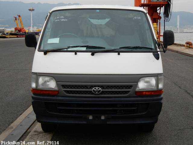 Used 1999 AT Toyota Hiace Van KG-LH172V Image[6]