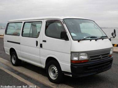 Toyota Hiace Van 1999 from Japan
