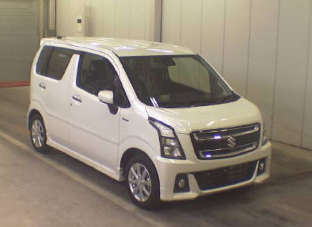 Used 2017 AT Suzuki Wagon R MH55S