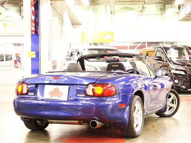 Used 1999 MT Mazda Roadster GF-NB8C Image[2]