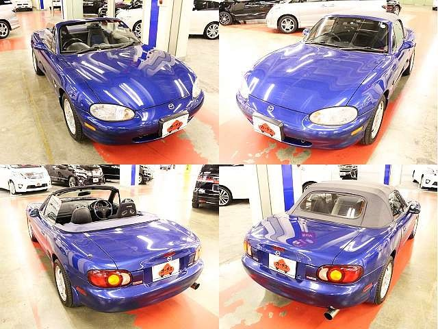 Used 1999 MT Mazda Roadster GF-NB8C Image[8]