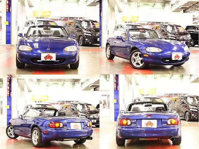 Used 1999 MT Mazda Roadster GF-NB8C Image[9]