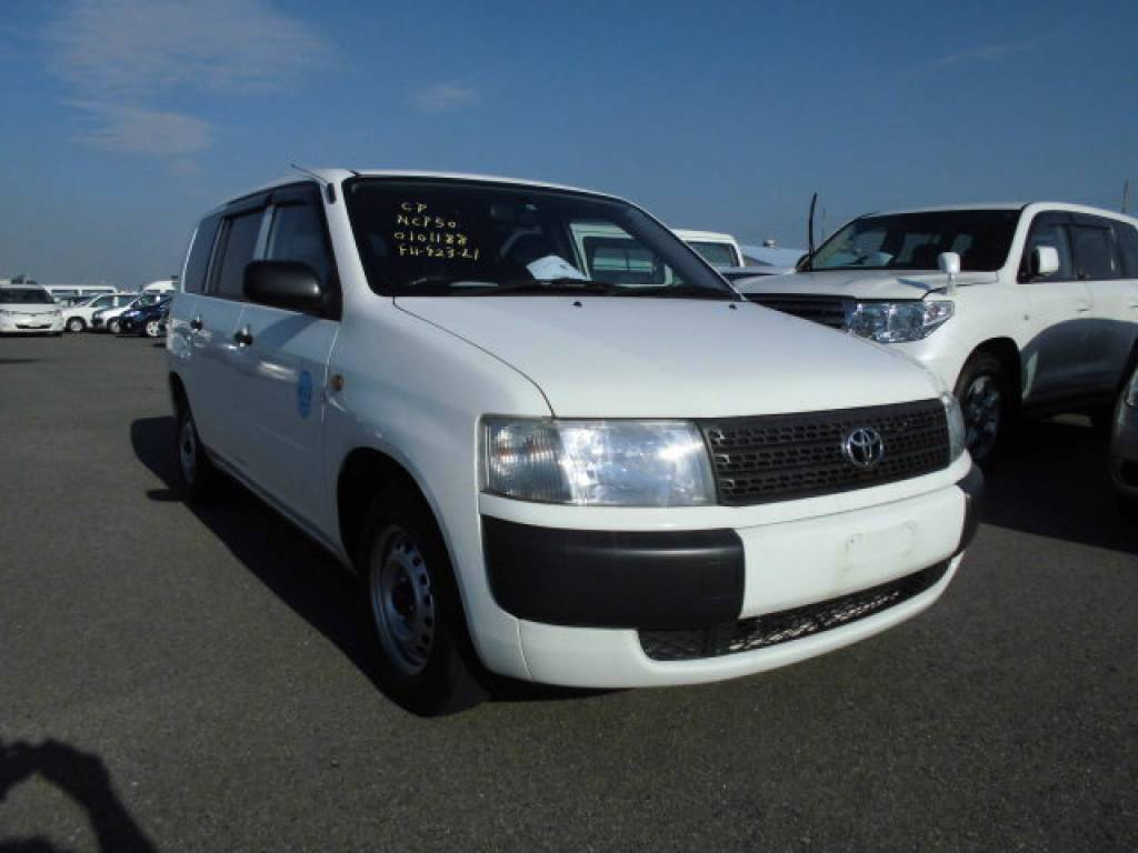 Used 2009 AT Toyota Probox Van NCP50V Image[1]