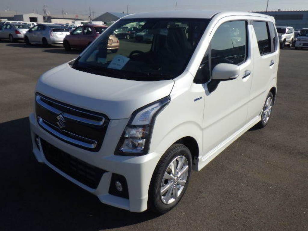 Used 2017 AT Suzuki Wagon R MH55S Image[2]