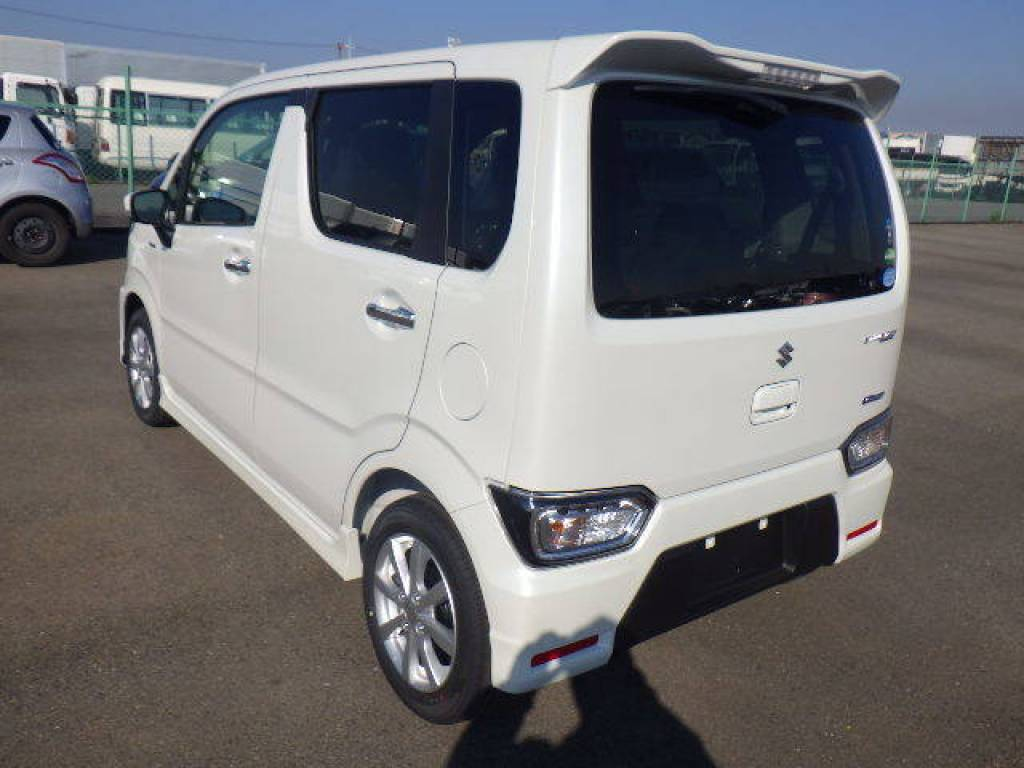 Used 2017 AT Suzuki Wagon R MH55S Image[4]