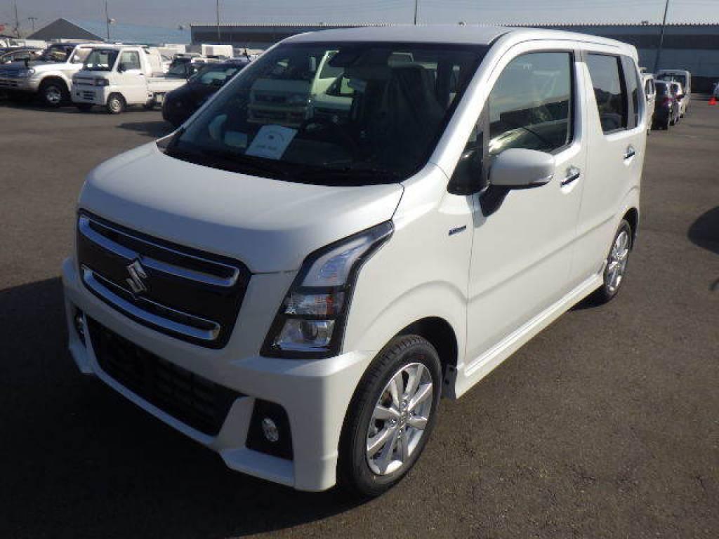 Used 2018 AT Suzuki Wagon R MH55S Image[1]