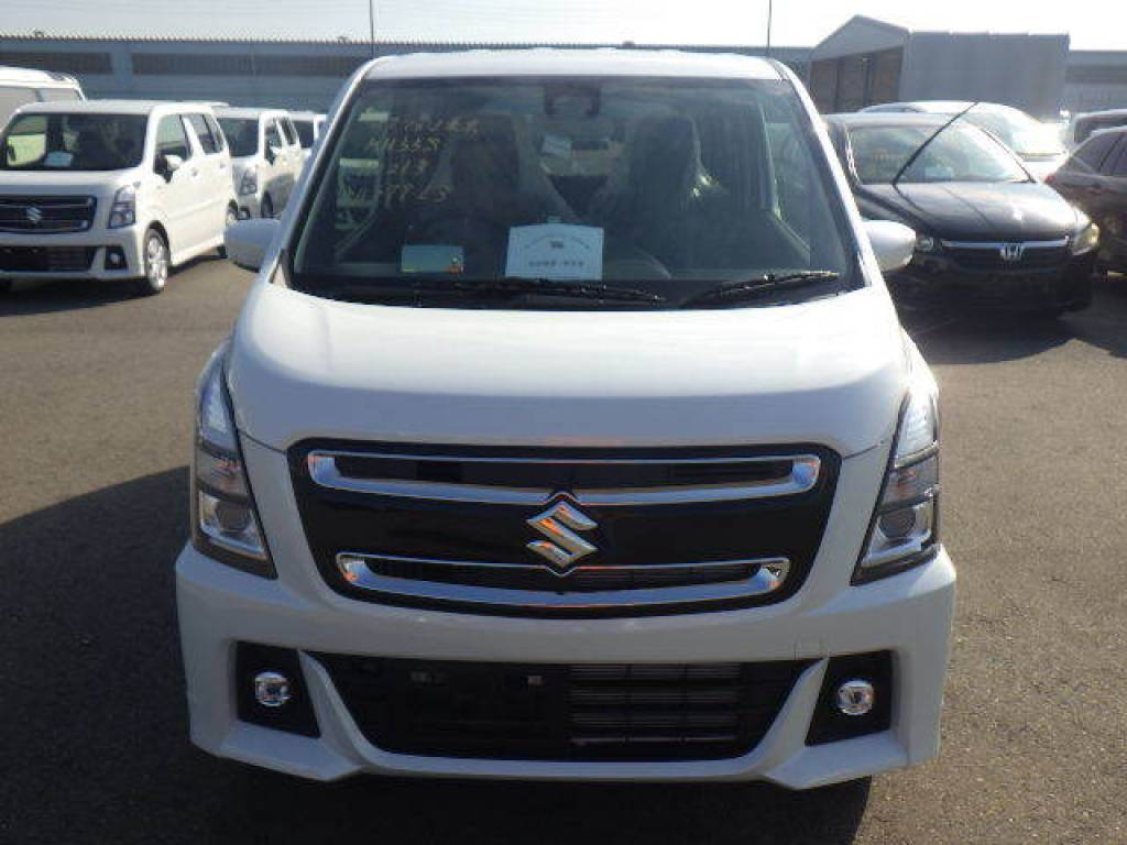 Used 2018 AT Suzuki Wagon R MH55S Image[2]