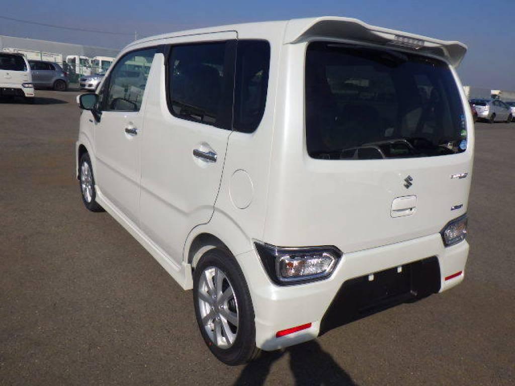 Used 2018 AT Suzuki Wagon R MH55S Image[4]