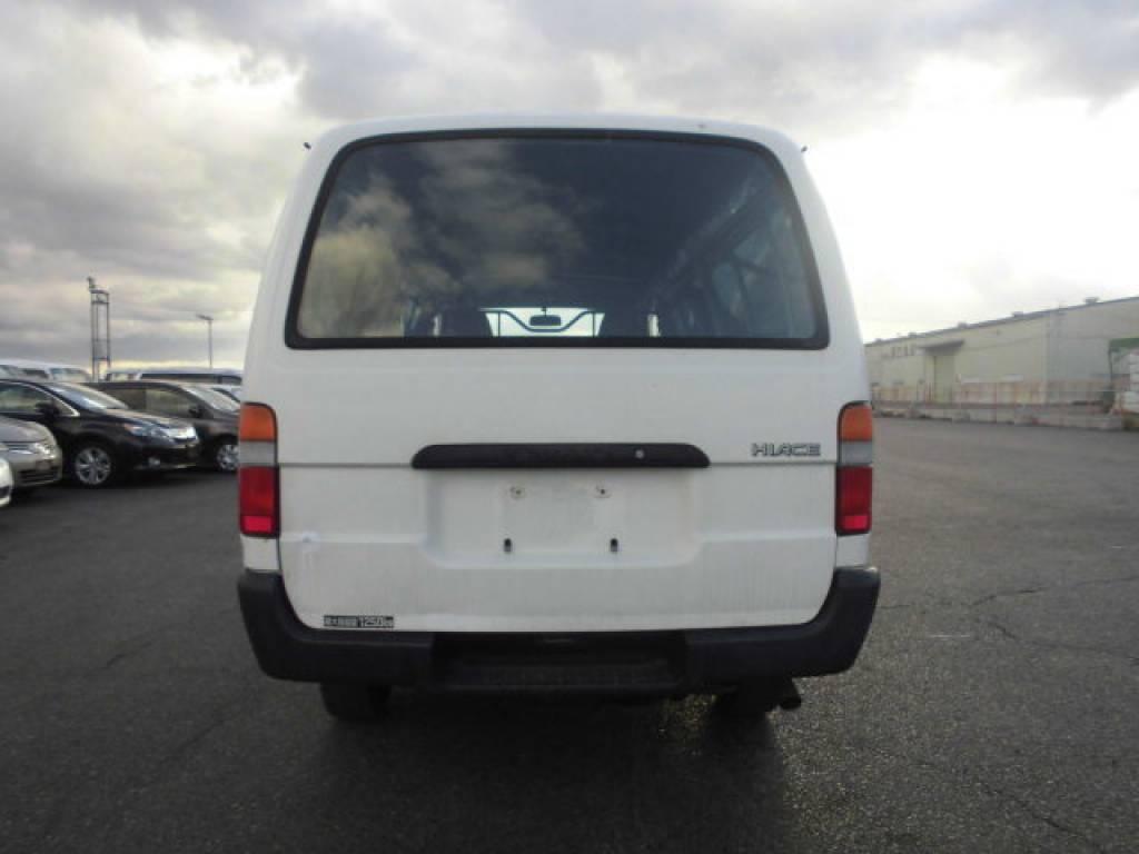 Used 2004 MT Toyota Hiace Van TRH112V Image[4]